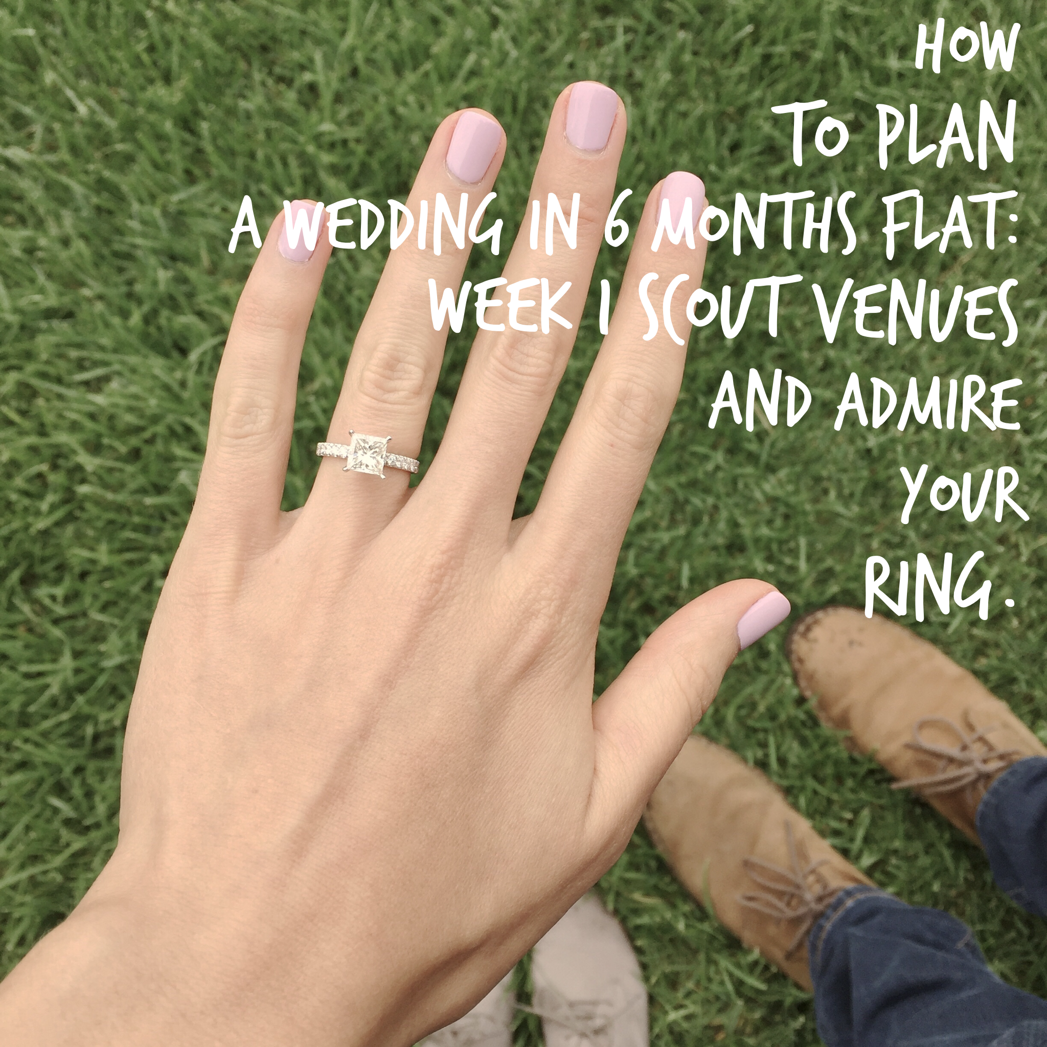 How To Plan A Wedding In 6 Months Flat: Week 1