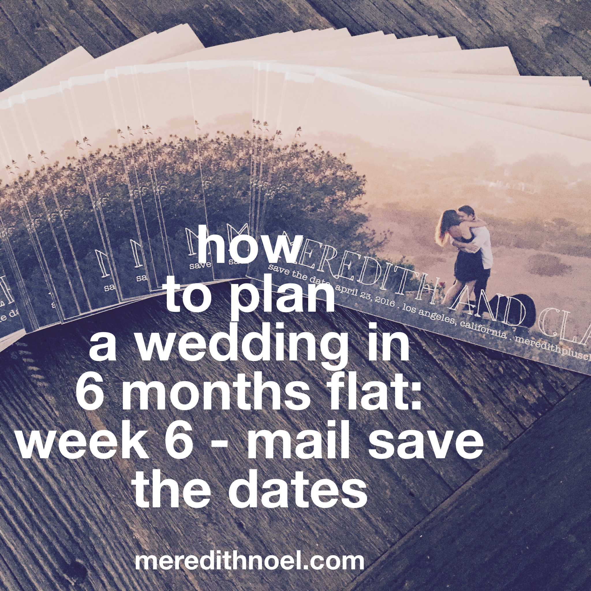 How To Plan A Wedding In 6 Months Flat: Week 6