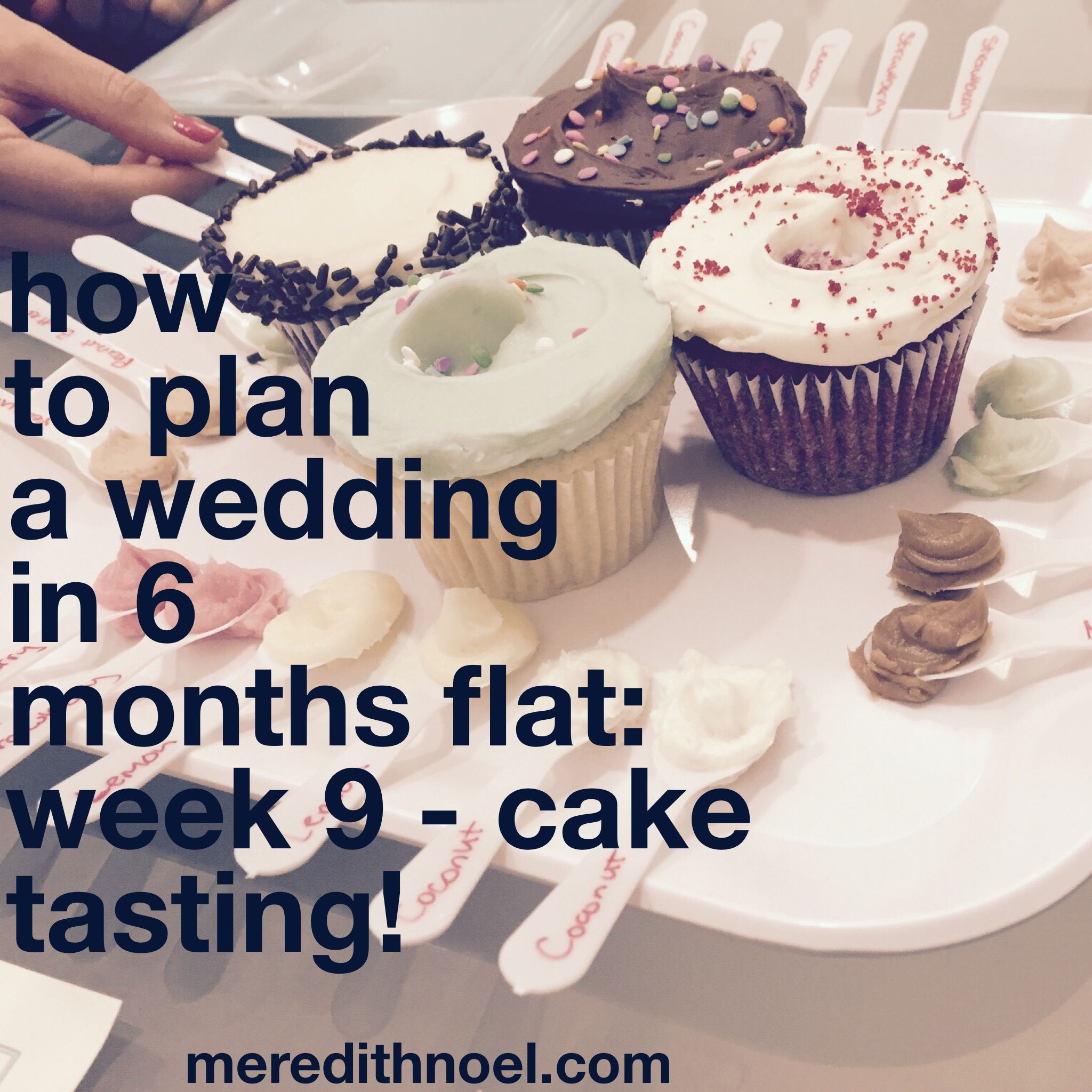 How To Plan A Wedding In 6 Months Flat: Week 9