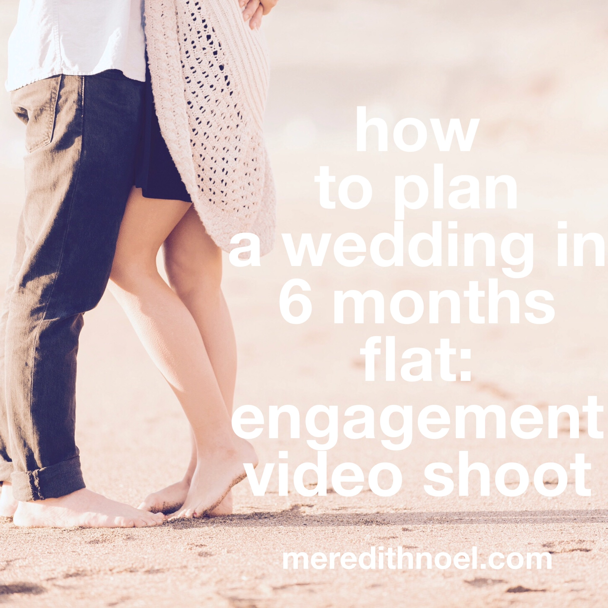 How To Plan A Wedding In 6 Months Flat: Week 10
