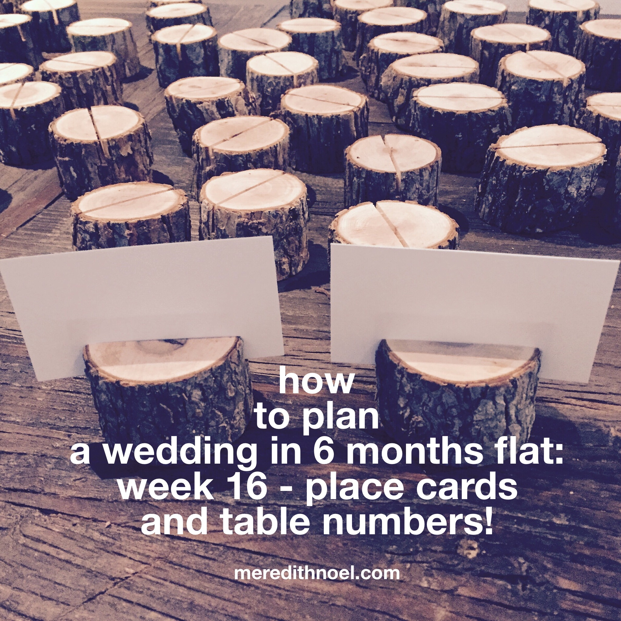 How To Plan A Wedding In 6 Months Flat: Week 16