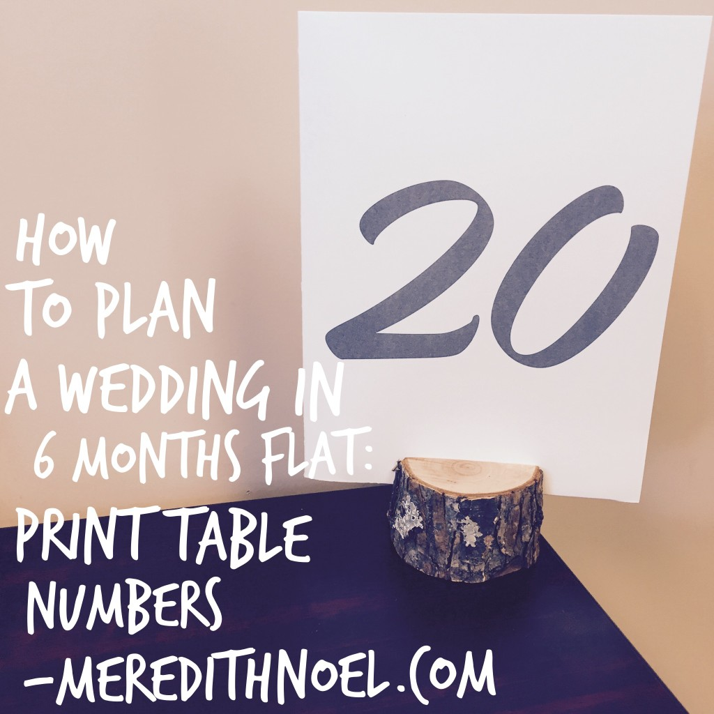 How To Plan A Wedding In 6 Months Flat: Week 17
